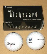 Resident evil Biohazard Cr promotional Pachislot Pachinko Daiichi Golf Ball Set