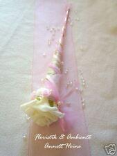Tischdeko Taufe/Geburt Sisaltüte rosa