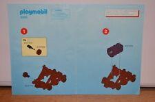 7797 playmobil bouwplan katapult ridders 4438