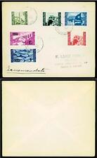 ISTRIA E LITORALE SLOVENO (Occ. jugoslava) - 1946 - Le due serie su raccomandata