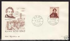 ITALIA 1963 - GIOACCHINO BELLI - FDC CAPITOLIUM MARRONE - ANNULLO ROMA