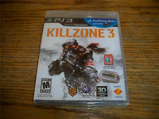 Killzone 3 Playstation 3 Genuine PS3 Game 3D NEW 2011