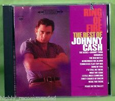 Ring Of Fire: The Best Of Johnny Cash (cd, 1995 Sony) desde sus primeros días!