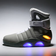Mens BACK TO THE FUTURE WARRIOR BASKETBALL LED LIGHT SHOES KEY CHAIN Cool Stylis