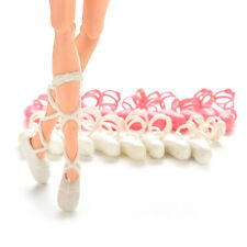"""10 Pairs Fashion Ballet Shoes Bind-type for 11"""" Barbie Doll Outfit Toy N8D"""