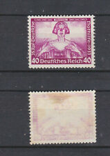 GERMAN REICH 1933 Wagner 40pf Mint * B57 (Mi.507)