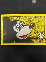 KEITH HARING x UNIQLO Mickey T-shirt US size S - M NWT Black MOMA NYC SOLD OUT