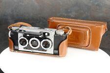 ~David White Stereo Realist F3.5 3D Camera w/ Leather Case