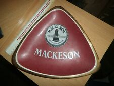 Vintage Mackeson Ashtray Ceramic Made In England