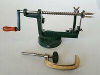 Apple Peeler Corer Slicer Wood Handle