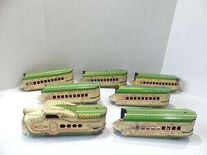 Late 1930's Marx M10005 Union Pacific electric passenger train set