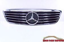 Mercedes W220 Sport Grille W/165mm Big Star Emblem S-Class up to 09/02 Schatz