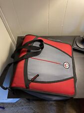 3 Ring Binder With Shoulder Strap Red