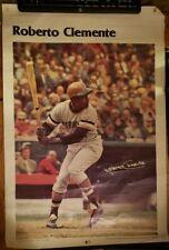 Vintage Roberto Clemente Poster 1977 -1978 Pittsburgh Pirates