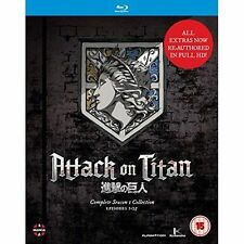 Attack on TITAN Complete Season One Collection 5022366355346 Blu-ray Region B