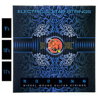 Nickel Wound Pack of Electric Guitar Strings Full Set 9s / 10s / 11s Gauge