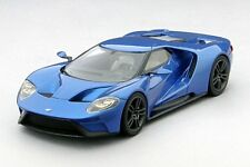 Ford Gt 2015 Blue 1:43 Model TRUE SCALE MINIATURES