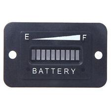 L'état de la batterie Charge indicateur moniteur compteur jauge DEL Digital 12 V & 24 V U M8C0