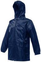 New Kids Boys Girls Childrens Regatta Stormbreak Waterproof Rain Jacket Coat