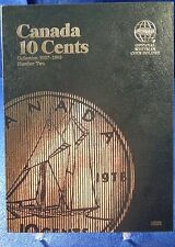Whitman Canada 10 Cents VOL#2 1937-1989 Coin Folder, Album Book # 3203