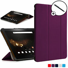 Forefront Cases Purple Folding Smart Case Cover Acer Iconia Tab 10 A3-A40 Stylus