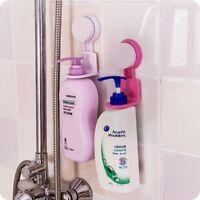 Suction Cup Rack Wall Mount Holder Bathroom Shower Shelf  Shampoo Shelf Holder