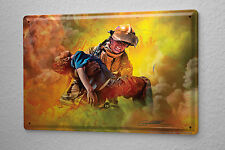 Tin Sign Home Office Firefighter Fire Boy Metal Plate Professional Title