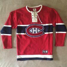 Montreal Canadiens Breakaway Sweatshirt Jersey Sweater NHL Fanatics Medium