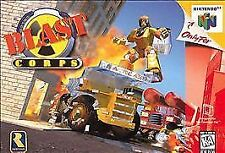 BLAST CORPS NINTENDO 64 N64 AUTHENTIC VIDEO GAME CART RETRO OEM SUPER FAST SHIP