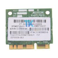 657325-001 New HP BroadCom BCM94313HMGB 802.11abn Wifi Bluetooth PCIE 4.0 Card