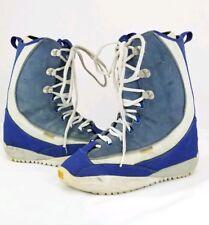 Burton Ruler Men Size 7 Blue White Gray Snowboard Boots Uk 6 Eur 39.5