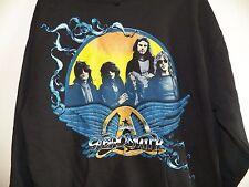 New Men's AEROSMITH Band Sunset Logo Rock Adult Large Hoodie Hooded Sweatshirt