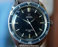 Omega Vintage Seamaster 120 T Dial Silver Logo Dial 37mm COLLECTIBLE