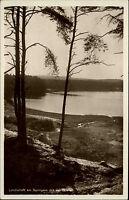 Springsee bei Storkow Brandenburg s/w AK ~1940 Seeblick mit Quelle ungelaufen