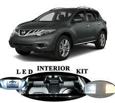 LED Package - Interior + License Plate + Vanity for Nissan Rogue 10 Pcs