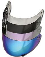 LS2 Helmets Ersatz Visier - Passend für Helm LS2 FF351 - FF352 - FF369 - FF384