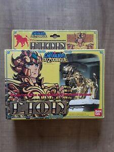 Figurine chevalier d'Or LION, les chevaliers du zodiaque complet 1987 Bandai