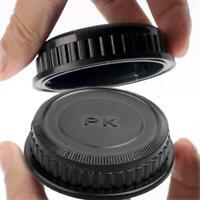 Rear Lens Caps Cover Plastic Round Rear Lens-Cap For Lens Black Pentax G1G8 V9G4