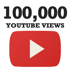 100,000 YouTube views [Express delivery]