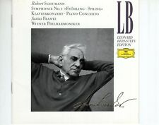 CDJUSTUS FRANTZSchumann symphony no 1VG++ BERNSTEIN EDITION  (B4098)