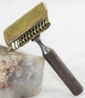 Vintage Ever-Ready-American Safety Razor Co.-1914 Pat.-2 Pc-Single Edge Safety
