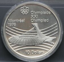 "Canada - 10 dollars 1976 ""XXI Olympics in Montreal Olympic stadium"" - proof"