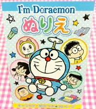 Doraemon Friends Coloring Book Nurie / Japan Anime 50th Made in Japan / Sanrio