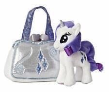 Aurora Rarity 6.5-Inch My Little Pony with Cutie Mark Purse
