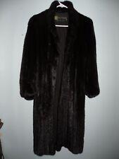 Pierre Balmain Designer Full length mink Fur Coat stroller