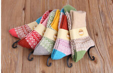 H5 Japanese Thermal Women Socks Winter Warm Rich Wool Casual UK Size 3 to 5