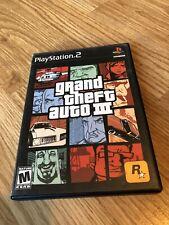 Grand Theft Auto III GTA 3 (Sony PlayStation 2) Ps2 PG1
