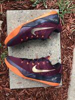 Men's Nike Kobe 9 IX EM Deep Garnet Basketball Shoes Black Size 12 646701 678