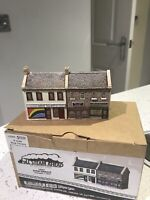 Lilliput Lane Full Steam Ahead L3563 Shop Terrace - Painted N Gauge