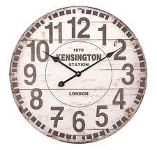 Wanduhr Design rund Retro Bahnhof London Londres 60cm A Nadeln